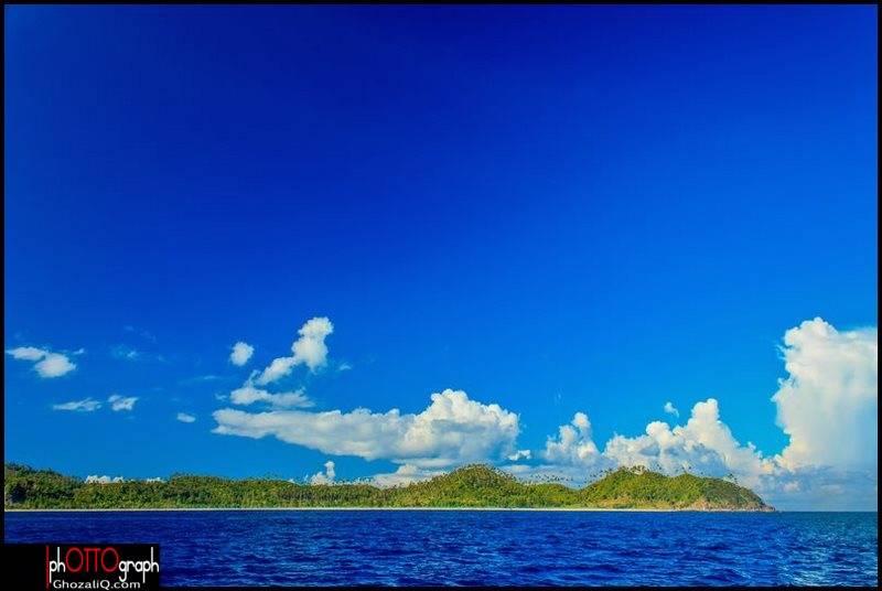 2._ghozaliq_pulau beras dari kejauhan