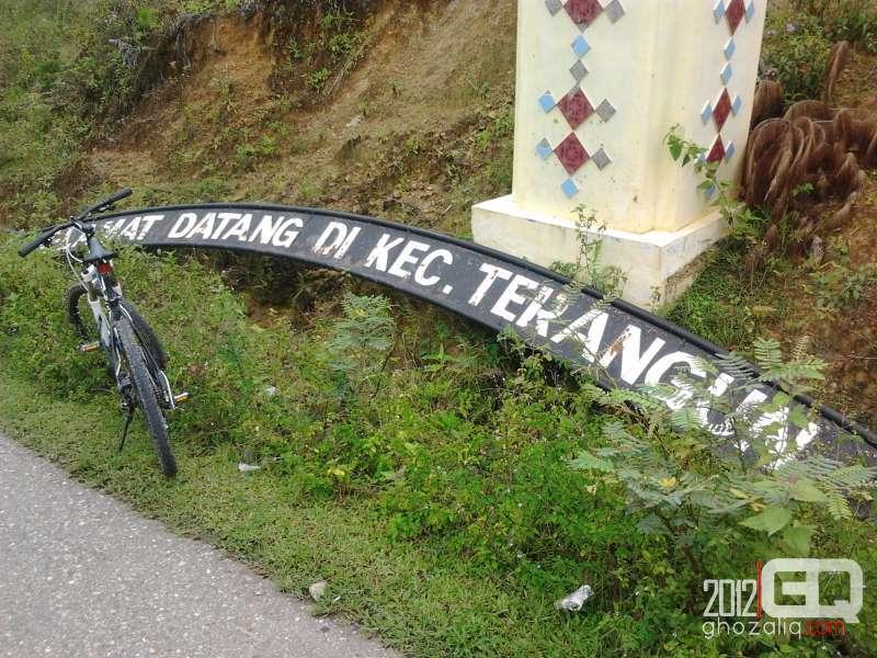 Bersepeda terangun tripe jaya pantan cuaca gayo lues aceh