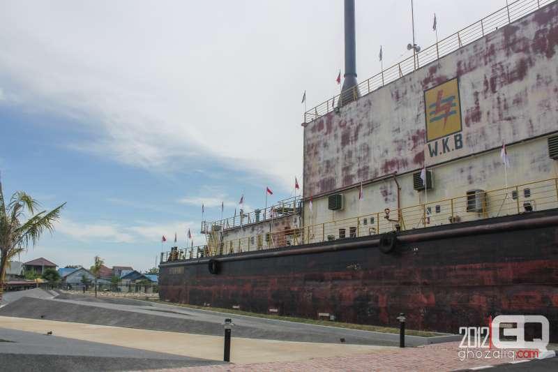 Kapal Pembangkit Listrik Tenaga Diesel Aceh