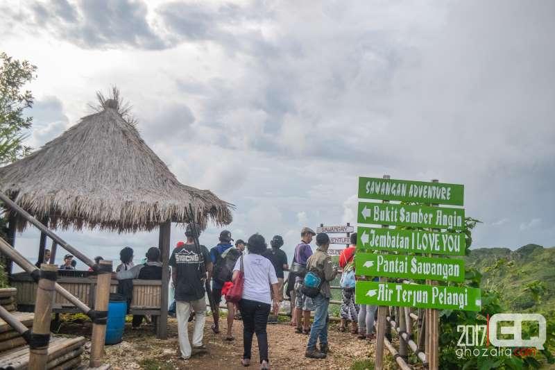 Bukit Sawangan tempat wisata alam kebumen jawa tengah