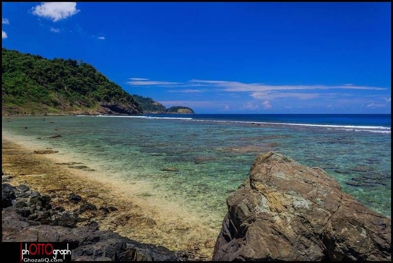 Pantai Rinon, Pulau Breuh, Aceh.