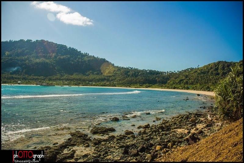 7._ghozaliq_pantai di desa meulingge dari pantai rinon