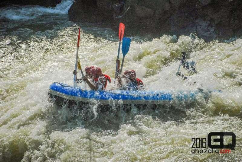 Rafting arung jeram serayu banjarnegara