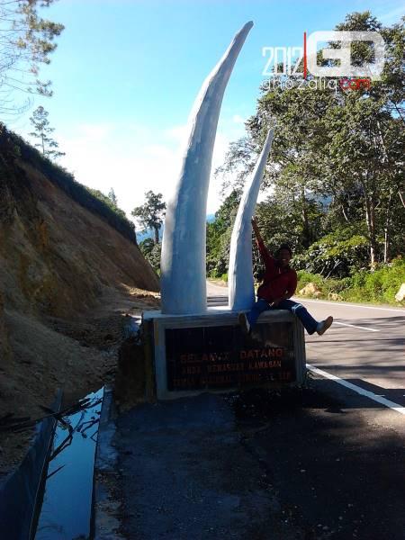 Gapura Taman Nasional Gunung Leuser Aceh