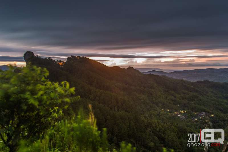 bukit kunir benowo purworejo sunrise sunset matahari terbit terbenam