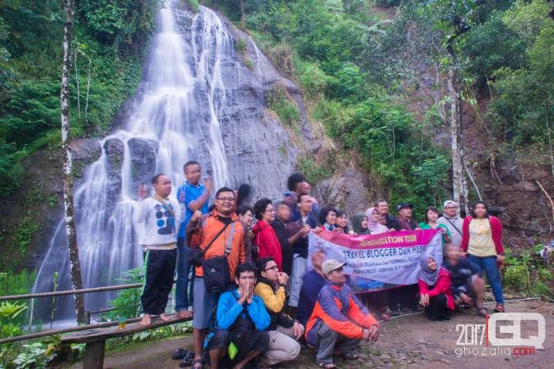 curug benowo desa benowo air terjun purworejo wisata jawa tengah