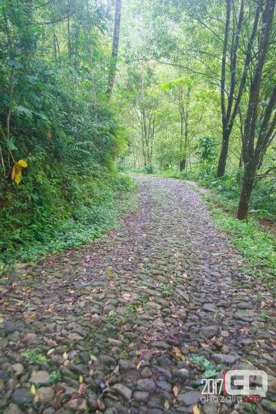 curug padusan desa benowo air terjun purworejo wisata jawa tengah