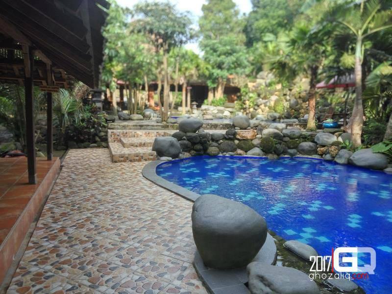 Watu Gunung Di Ungaran Area Kolam Renang Dan Resort Di Kab
