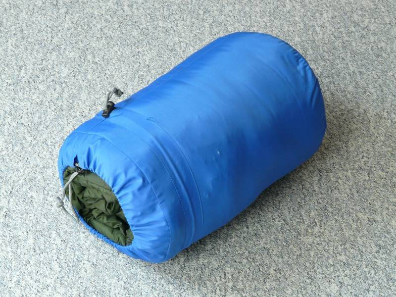 memilih sleeping bag