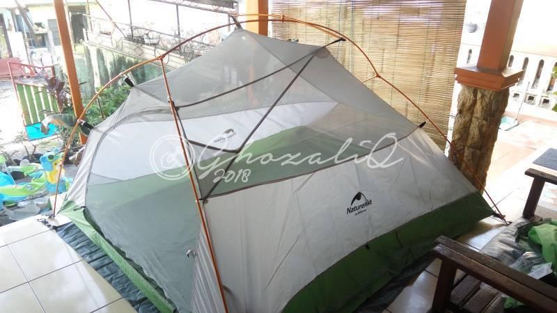 tips memilih tenda ultralight
