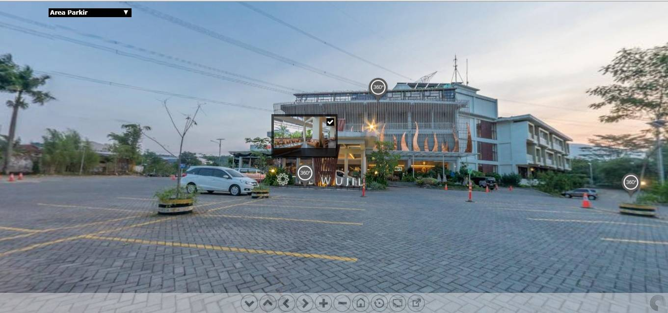 virtual tour 360 the wujil resort