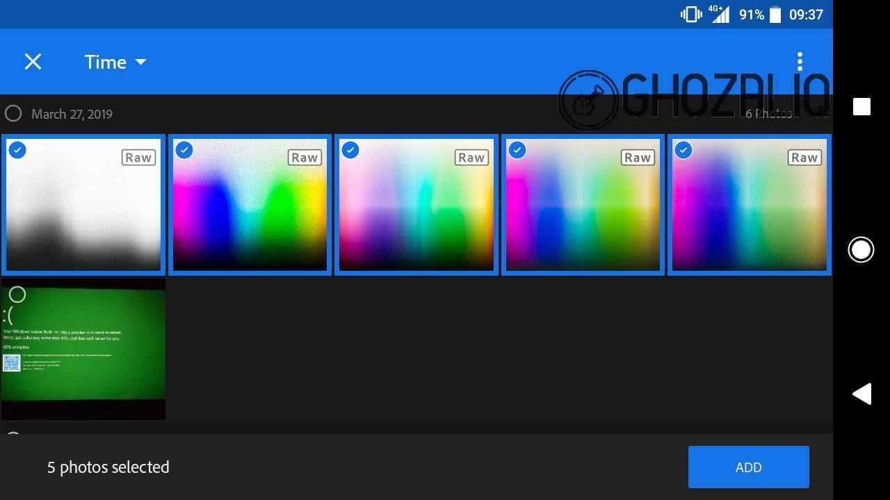 menambahkan preset di lightroom android