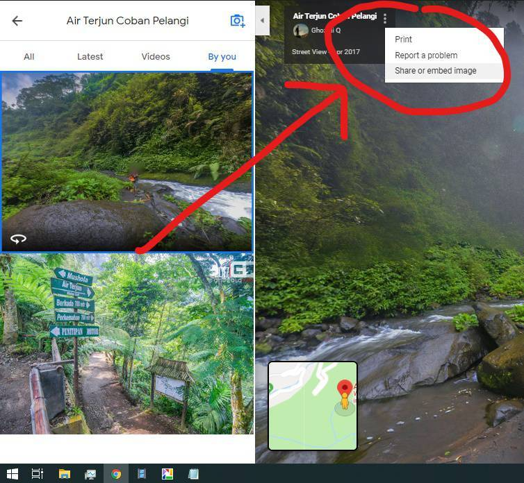 Cara Upload Foto Panorama dan Virtual Tour 360