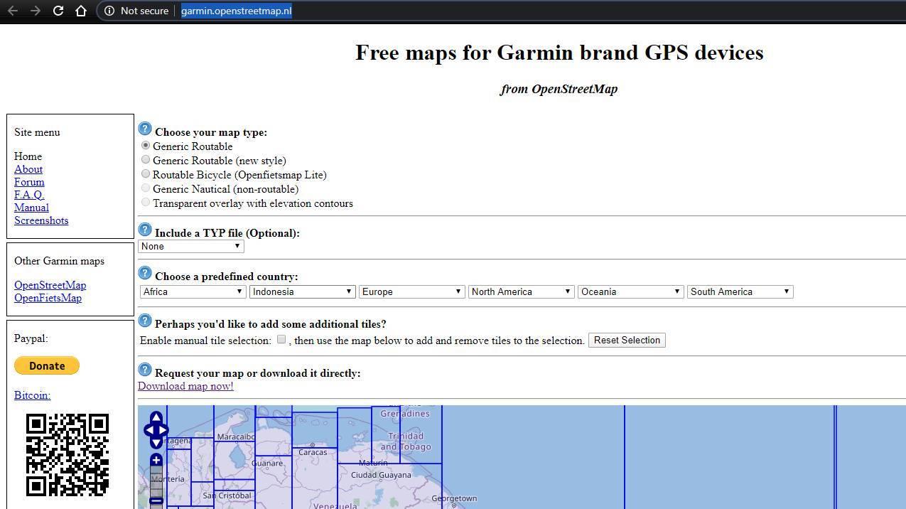 peta indonesia detail garmin basecamp
